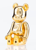 General Americana, BE@RBRICK X BAIT. Gold Bar 100%, 2017. Chromed cast vinyl.2-3/4 x 1-1/2 x 1-1/2 inches (7.0 x 3.8 x 3.8 cm). Produced a...
