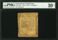 Colonial Notes:Pennsylvania, Pennsylvania June 18, 1764 20s PMG Very Fine 30 Net.. ...