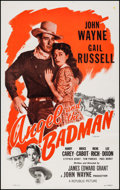 """Movie Posters:Western, Angel and the Badman (Republic, R-1959). One Sheet (27"""" X 41""""). Western.. ..."""