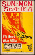 """Movie Posters:Science Fiction, On the Beach (United Artists, 1959). Window Card (14"""" X 22""""). Science Fiction.. ..."""
