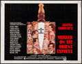 "Movie Posters:Mystery, Murder on the Orient Express (Paramount, 1974). Half Sheet (22"" X28""). Mystery.. ..."