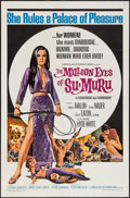 "Movie Posters:Bad Girl, The Million Eyes of Su-Muru (American International, 1967). OneSheet (27"" X 41""). Bad Girl.. ..."