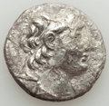 Ancients:Greek, Ancients: SELEUCID KINGDOM. Antiochus VII Euergetes-Sidetes(138-129 BC). AR tetradrachm (12.14 gm). About VF, porosity,lamination....