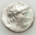 Ancients:Greek, Ancients: SELEUCID KINGDOM. Antiochus VII Euergetes-Sidetes(138-129 BC). AR tetradrachm (13.39 gm). About VF, porosity, edgechips....