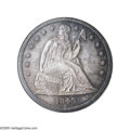 Proof Seated Dollars: , 1845 $1 PR65 NGC. Ex: La Jolla Collection. Normal Date. The JackLee Collection of Proof Seated Liberty Silver Dollars inc...