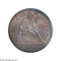Proof Seated Dollars: , 1848 $1 PR66 NGC. Although the mintage is not specifically known,25 to 35 examples seems to be a good estimate, and it is...
