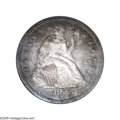 Proof Seated Dollars: , 1849 $1 PR65 NGC. It is fair to say that every Proof Seated LibertySilver Dollar from the decade of the 1840s is a rarity...