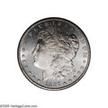 Morgan Dollars: , 1887-S/S $1 MS65 Deep Mirror Prooflike PCGS. VAM-2. A Top 100 Variety. While the VAM-2 is readily available, it is neverth...