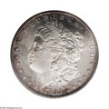 Morgan Dollars: , 1893-S $1 MS64 PCGS. The rarity of this issue is without question,with each of the known Uncirculated coins in constant d...