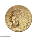 Proof Indian Half Eagles: , 1910 $5 PR67 NGC. The official mintage for proof half eagles from 1910 is the highest of any date of its type, listed at 25...