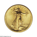 High Relief Double Eagles: , 1907 $20 High Relief, Flat Rim MS65 PCGS. The story of the High Relief twenties is well-known to numismatists. President Th...