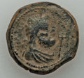 Ancients:Roman Provincial , Ancients: BYZACIUM. Hadrumetum. Augustus (27 BC-AD 14). AE As(12.01 gm). VF....