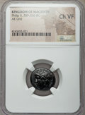 Ancients:Greek, Ancients: MACEDONIAN KINGDOM. Philip II (359-336 BC). AE unit. NGCChoice VF....