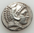Ancients:Greek, Ancients: MACEDONIAN KINGDOM. Alexander III the Great (336-323 BC).AR tetradrachm (16.75 gm). AU, edge chips....