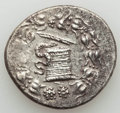 Ancients:Greek, Ancients: LYDIA. Tralles. ca. 166-67 BC. AR cistophoric tetradrachm(12.47 g). XF....