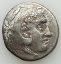 Ancients:Greek, Ancients: MACEDONIAN KINGDOM. Alexander III the Great (336-323 BC).AR tetradrachm (15.78 gm). Fine, lamination....
