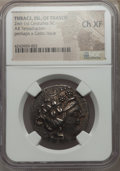 Ancients:Greek, Ancients: THRACIAN ISLANDS. Thasos (or possibly a Celtic issue).Ca. 148-90/80 BC. AR tetradrachm. NGC Choice XF. ...