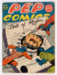 Pep Comics #27 (MLJ, 1942) Condition: Apparent GD+