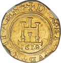 Italy:Genoa, Italy: Genoa. Biennial Doges gold 2 Doppie 1619-DN AU Details(Scratches) NGC,...