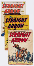 Golden Age (1938-1955):Western, Straight Arrow #1-54 Near-Complete Series Group (MagazineEnterprises, 1950-56) Condition: Average GD/VG.... (Total: 51 ComicBooks)