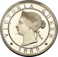 Jamaica:British Colony, Jamaica: British Colony. Victoria Proof Penny 1869 PR65 Cameo PCGS,...