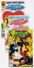 Modern Age (1980-Present):Superhero, The Amazing Spider-Man Group of 66 (Marvel, 1981-93) Condition:NM-.... (Total: 66 Comic Books)