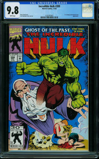 The Incredible Hulk #399 (Marvel) CGC NM/MT 9.8 WHITE pages