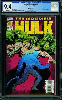 The Incredible Hulk #425 (Marvel) CGC NM 9.4 WHITE pages