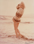 Photographs, George Barris (American, b. 1928). Marilyn Monroe from The Last Photos, 1962. Dye coupler, 1987. 13-1/2 x 10-1/2 inc...