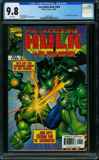 The Incredible Hulk #469 (Marvel) CGC NM/MT 9.8 WHITE pages