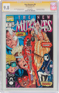 Modern Age (1980-Present):Superhero, The New Mutants #98 Signature Series (Marvel, 1991) CGC NM/MT 9.8White pages....