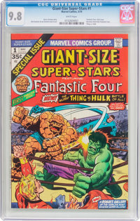Giant-Size Super-Stars #1 (Marvel, 1974) CGC NM/MT 9.8 White pages
