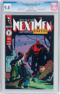 John Byrne's Next Men #21 (Dark Horse, 1993) CGC NM/MT 9.8 White pages