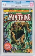 Bronze Age (1970-1979):Horror, Man-Thing #1 (Marvel, 1974) CGC NM/MT 9.8 White pages....