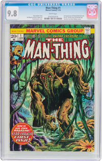 Man-Thing #1 (Marvel, 1974) CGC NM/MT 9.8 White pages