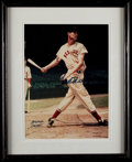 Autographs:Baseballs, Ted Williams Signed Arthur Griffin Photograph.  Of...