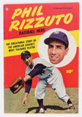 Golden Age (1938-1955):Non-Fiction, Phil Rizzuto Baseball Hero #nn (Fawcett Publications, 1951)Condition: VG+....