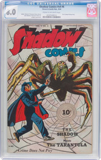 Shadow Comics V4#6 (Street & Smith, 1944) CGC VF 8.0 Cream to off-white pages