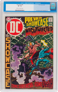 Showcase #84 Nightmaster (DC, 1969) CGC VF- 7.5 Cream to off-white pages
