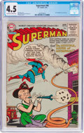 Golden Age (1938-1955):Superhero, Superman #96 (DC, 1955) CGC VG+ 4.5 Off-white to white pages....