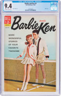 Silver Age (1956-1969):Romance, Barbie and Ken #4 (Dell, 1963) CGC NM 9.4 Off-white to white pages....