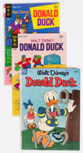 Bronze Age (1970-1979):Cartoon Character, Donald Duck Group of 35 (Dell/Gold Key, 1953-81) Condition: AverageVG.... (Total: 35 Comic Books)