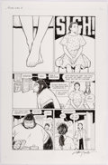 Original Comic Art:Panel Pages, Terry Moore Motor Girl #3 Story Page 2 Original Art (Abstract Studio, 2017)....