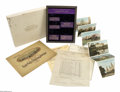 Commemorative Gold: , 1915-S 50C Panama-Pacific Set. An incredible, original Pan-Pac setwith invoices going back to 1915 and related paraphernal... (5items)