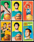 Basketball Cards:Lots, 1970 Topps Basketball Collection (57).  Includes: ...