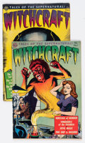 Golden Age (1938-1955):Horror, Witchcraft #1 and 2 Group (Avon, 1952).... (Total: 2 Comic Books)