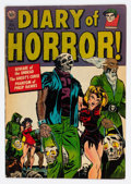 Golden Age (1938-1955):Horror, Diary of Horror #1 (Avon, 1952) Condition: FN-....