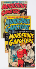 Golden Age (1938-1955):Crime, Murderous Gangsters #1-4 Complete Series Group (Avon, 1951-52).... (Total: 4 Comic Books)