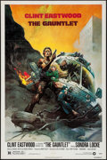 """Movie Posters:Action, The Gauntlet (Warner Brothers, 1977). One Sheet (27"""" X 41""""). Action.. ..."""
