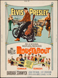 "Movie Posters:Elvis Presley, Roustabout (Paramount, 1964). Poster (30"" X 40""). Elvis Presley....."